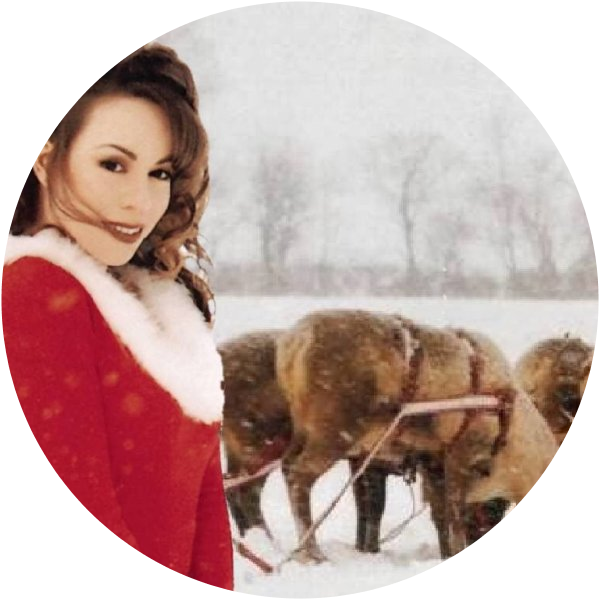 Mariah Carey Christmas Png.All I Want For Christmas Is You By Mariah Carey